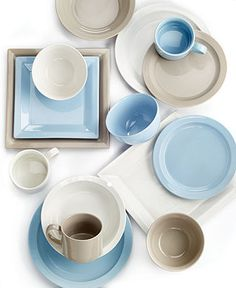 Martha Stewart Collection Mix and Match Dinnerware Collection - Martha Stewart Collection - Dining & Entertaining - Macy's