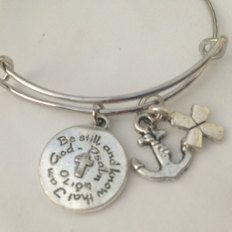 ON SALE  Antique Silver Bracelet Inspired by Alex & by Arrimage