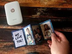 Video Tutorial: Father's Day Accordion Photo Card