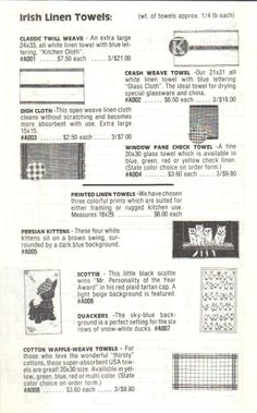 1987-88 Catalog page 3 #loosetea #svtea http://www.svtea.com/