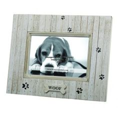distredded beadboard dog picture frame httpwwwourpictureframes