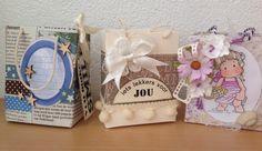 Cards en Scrap Challengeblog: Workshop 118 Een klein tasje zelf maken