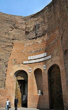 Rome - Santa Maria degli Angeli | Basilica of St. Mary of th… | Flickr