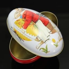 tin easter eggs | Details about Metal Tin Easter eggs Gadget Storage Candy Box Gift Case ...