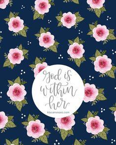 FREE Phone Wallpaper, Psalm 46:5 Wallpaper