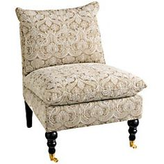Pier 1 Imports > Catalog > Furniture & Living > Pier1ToGo Product Details - Gillian Chair - Platinum