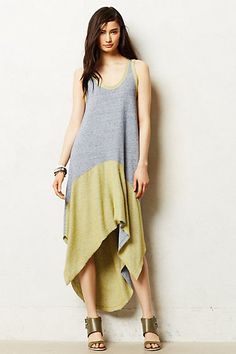 High-Low Terry Dress #anthropologie #anthrofave