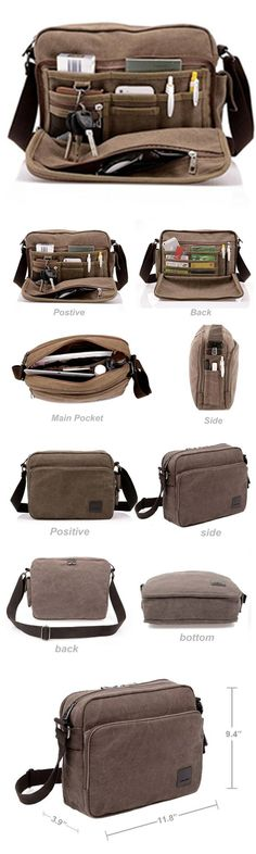 85232dd15206 Multifunction Men Canvas Bag Casual Travel Bolsa Masculina Men s Crossbody Bag  Men Messenger  Bags bagail