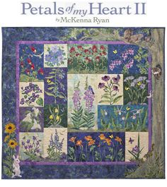 I just love McKenna Ryan's quilts.  Wish I could applique this well!