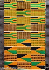 African Kente Print Fabric African Textiles, African Fabric, African Prints, African Home Decor, Art File, Textures Patterns, Clothing Patterns, Printing On Fabric, Fabrics