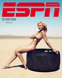 Courtney Force - ESPN magazine cover