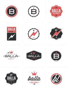 Retro B logos Typography Logo, Logo Branding, Lettering, 1 Logo, Badges, Web Design, Design Logos, Urban Design, Icon Design