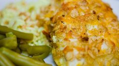 """Cheddar Baked Chicken I """"This recipe was AWESOME! My entire family loved this chicken. The chicken was very tender and the coating had a great taste. Yummy!!!!"""""""