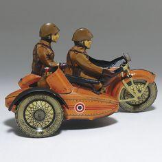 Repro Box Arnold Motorrad Nr.560 Blechspielzeug