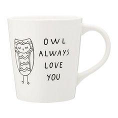 Owned:  Owl mug