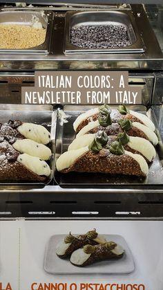 Gourmet Recipes, Baking Recipes, Dessert Recipes, Italian Desserts, Italian Recipes, Italian Colors, Sweets, Italy, Food