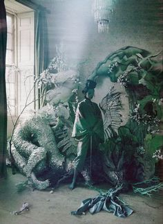 """""""Magical Thinking"""": Xiao Wen Ju by Tim Walker for W March 2012"""