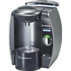 Bosch TAS6515GB Tassimo Coffee and Beverage Maker, LCD Display, Titanium: Amazon.co.uk: Kitchen & Home