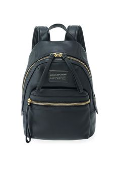 Marc by Marc black leather backpack.... about $500