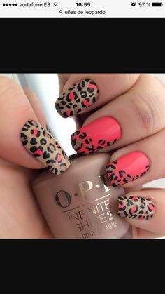 easy leopard nail art designs 2016 - style you 7 Leopard Nail Art, Leopard Print Nails, Leopard Prints, Leopard Spots, Trendy Nails, Cute Nails, My Nails, Teal Nails, Black Nails