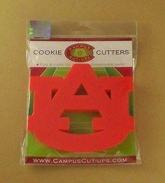 Campus Cut-Ups AUBURN UNIVERSITY Cookie Cutter Alabama AU New In Package HTF