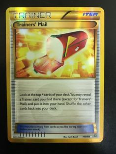 Pokemon Card: Trainers' Mail