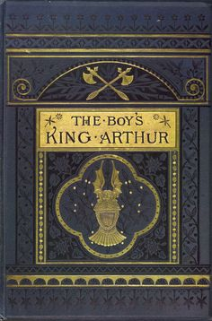 "Sir Thomas Malory 1880 ""The Boy's King Arthur"" / Ed: Sidney Lanier / Illustrated: Alfred Kappes"
