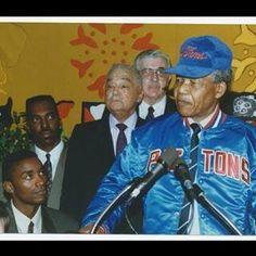 Isaiah Thomas and Nelson Mandela
