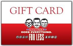 Pep Boys Gift Card - The perfect card for car people $50-up as you can give me