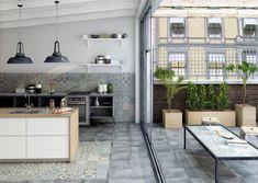 Diseño y decoración de ambientes para el hogar. Todo con cerámicas