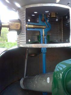 220/228F cut-a-ways - internals of coleman lantern