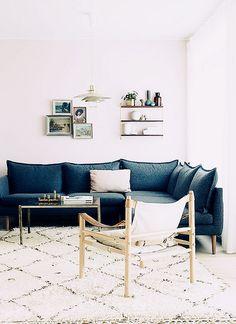 quiero un sofá azul