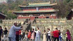 Qigong Instruction at Purple Heaven Palace on Wudang Mountain, China