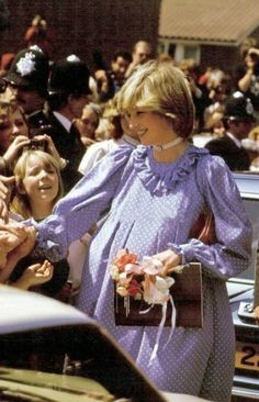 May 18, 1982: Princess Diana opens the Albany Community Centre on Douglas Way, Deptford, London.
