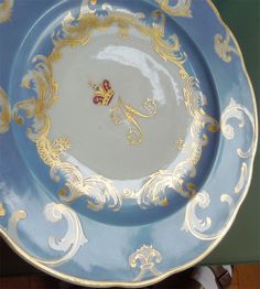 IMAGES OF RUSSIAN IMPERIAL PORCELAIN | Russian Imperial Porcelain Plate Farm Palace Banquet Service 1825-1855