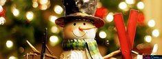 Cute Snowman Facebook Covers