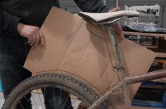 Make a lightweight saddlebag - Alpkit