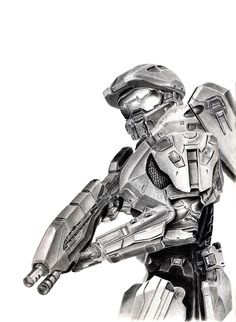WIP: Master Chief 2 by FlashofWildfire on @DeviantArt