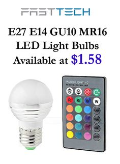FastTech is giving E27 E14 Gu10 MR16 led light bulbs, rate as low as $1.58. this deal is currently activate on the site. For more FastTech Coupon Codes visit:  http://www.couponcutcode.com/coupons/e27-e14-gu10-mr16-led-light-bulbs-starting-from-1-58/