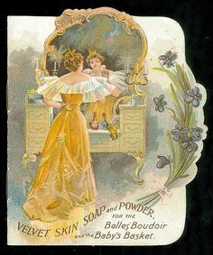 Velvet Skin Soap and Powder for Belle Baby 1896