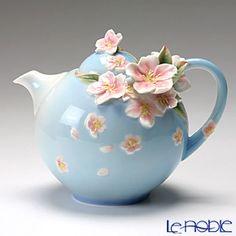 "Franz Collection Cherry Blossom ""Sakura"" Flower Design Teapot"