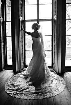 beautiful dress, bride and picture