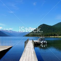 Lake Rotoroa, Nelson Lakes National Park, NZ Royalty Free Stock Photo Deep Photos, Kiwiana, Image Now, Nature Photos, Lakes, Wilderness, New Zealand, National Parks, Scenery