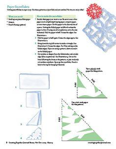 Paper Snowflake pattern