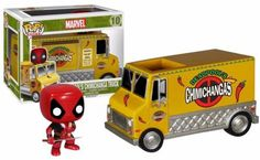 Funko- POP Rides: Deadpool's Chimichanga Truck! Comes with Deadpool POP! Check…