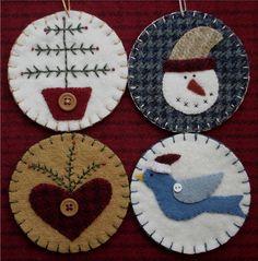 Free Wool Penny Rug Patterns - Bing Images