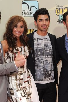 Joe Jonas Surprised Demi Lovato With a 'Camp Rock' Serenade Last Night