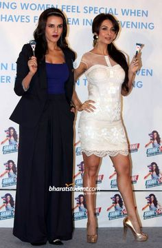 Gillette's Shave or Crave Launch, Neha Dhupia, Malaika Arora Khan, Gillette
