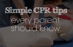 Great tips for CPR in this FREE eBook | Simple CPR tips every parent should know - macaroni and mascara #cpr #firstaid #emergency