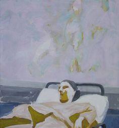 Original People Painting by Wojtek Herman Oil On Canvas, Canvas Art, Original Art, Original Paintings, Art Oil, Buy Art, Modern Art, Saatchi Art, Hospital Bed